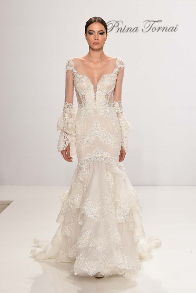 The Most Beautiful Dresses From Bridal Fashion Week