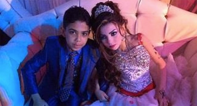 The Engagement Of These Egyptian Children Is Causing Outrage