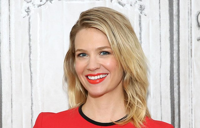 January Jones Explains Why Her Son Doesn't Need A Father Figure
