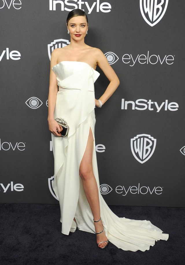 2017 Golden Globes After Party Fashion