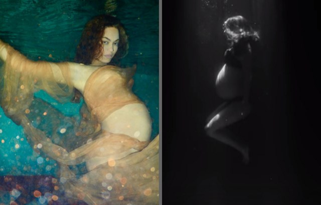 Natalie Portman Just Pulled A Beyonce With An Underwater ...
