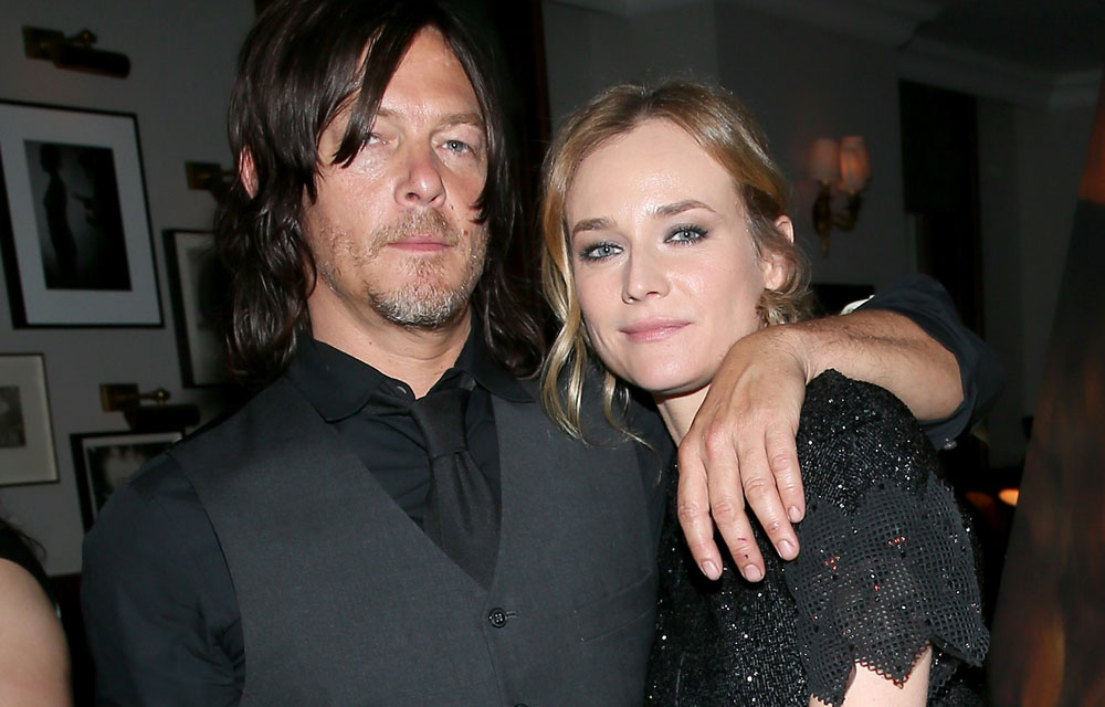 diane kruger and norman reedus - 1000×640