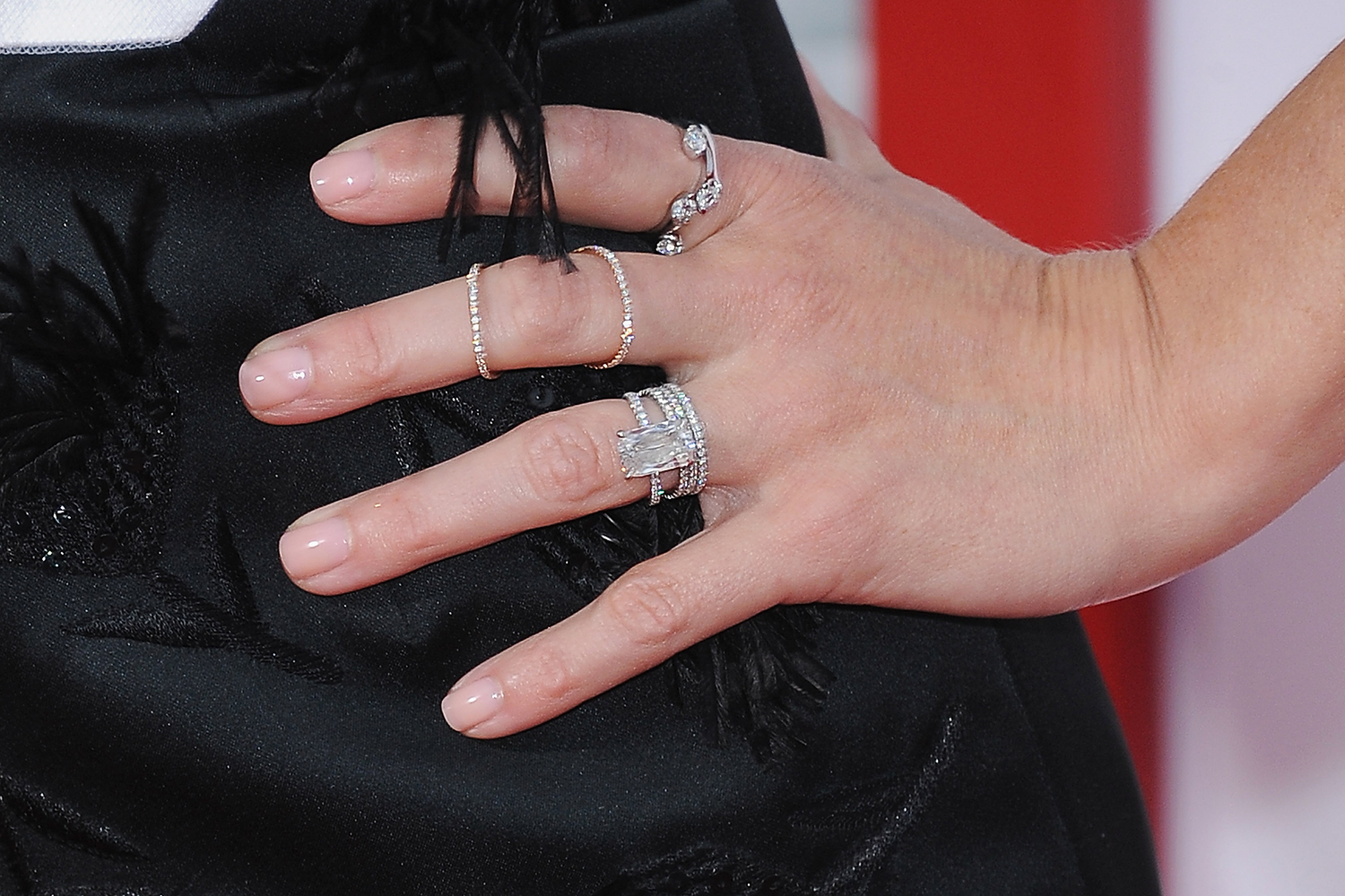 The most expensive celebrity diamond engagement rings | Marie Claire ...