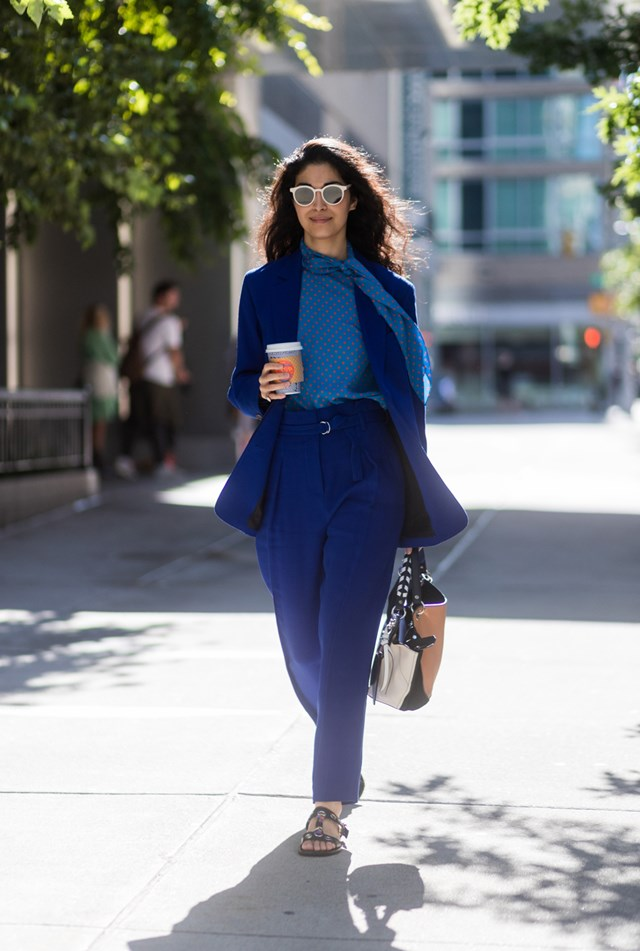 Street Style New York Fashion Week Spring Summer 2018 Marie Claire Australia