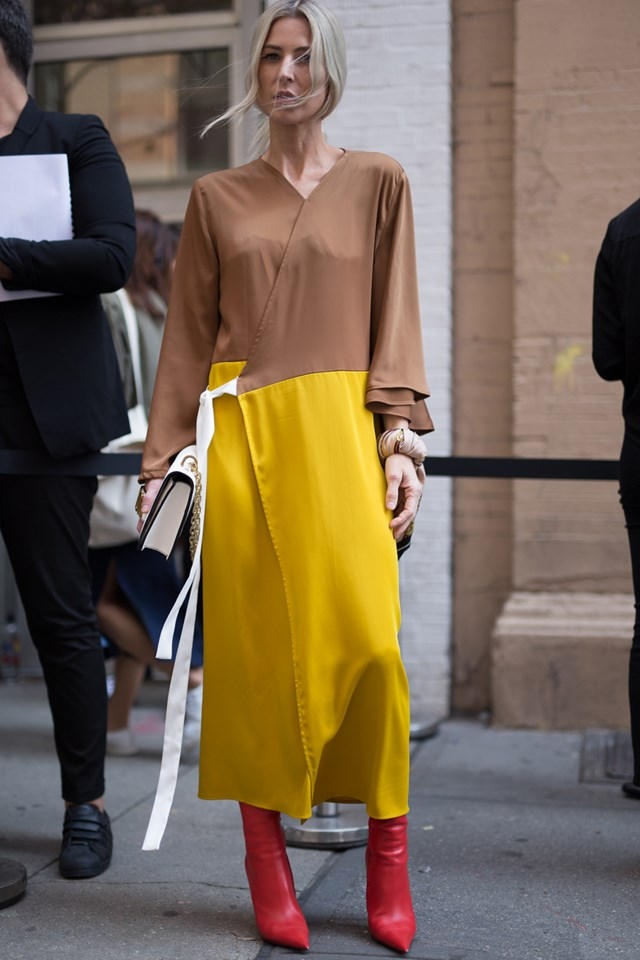 Street Style New York Fashion Week Spring Summer 2018