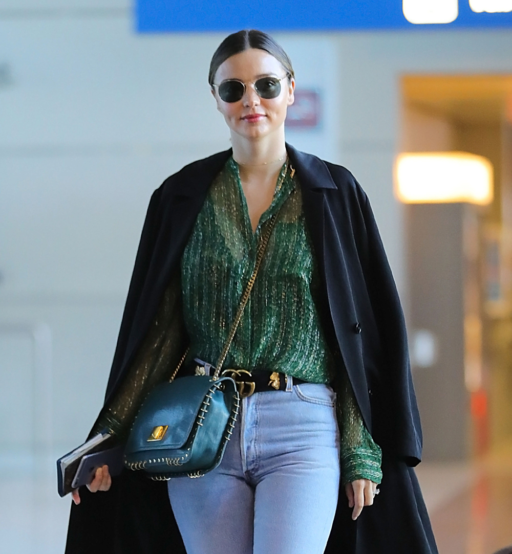 Miranda Kerrs Best Off Duty Style Moments Marie Claire Australia