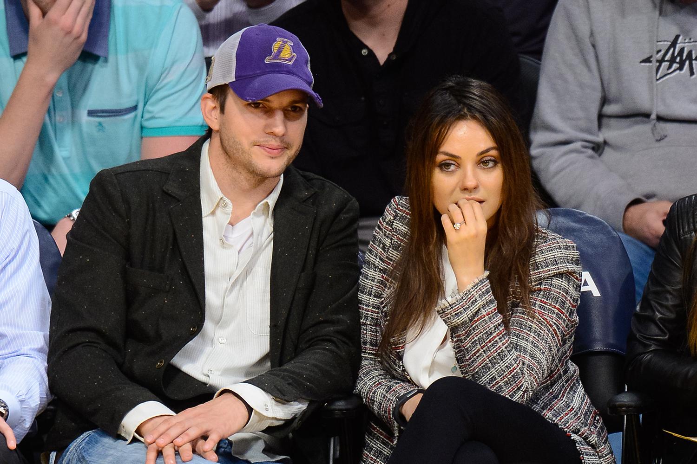 Mila Kunis And Ashton Kutcher Are Having A Present Free