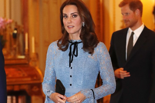 Kate Middleton Is Being Baby Bump-Shamed After Her First Public Appearance