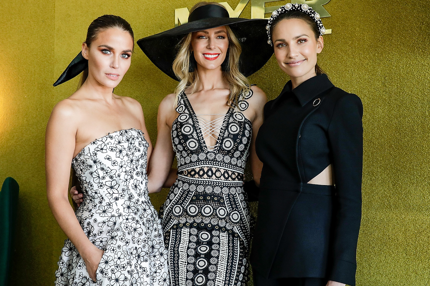 Day at the races: Aussie stars glam up for Caulfield Cup