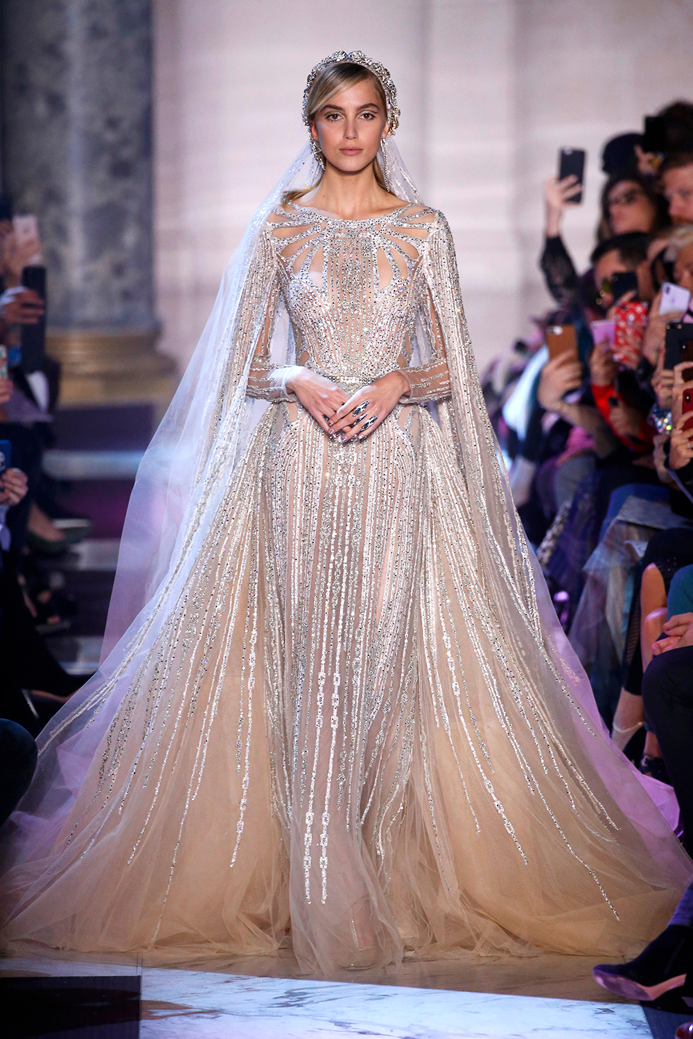 Elie Saab Couture Springsummer 2018 The 10 Best Dresses Marie Claire Australia: Elie Saab Couture Wedding Dress At Reisefeber.org