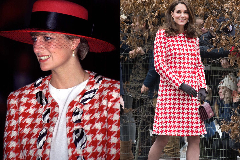 Every Time Kate Middleton Dressed Like Princess Diana | Marie Claire ...