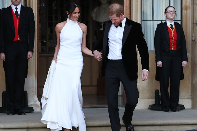 d338b399e1639 The Royal Wedding's Celebrity Guests Had Second Dresses For The Reception
