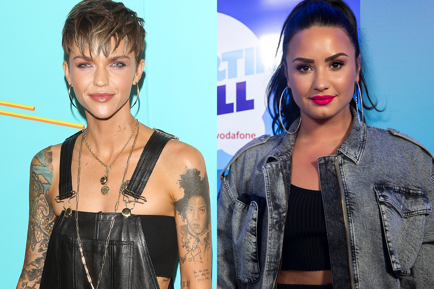 Ruby Rose And Demi Lovato Hint At Relationship With Flirty Instagram Exchanges Marie Claire Australia