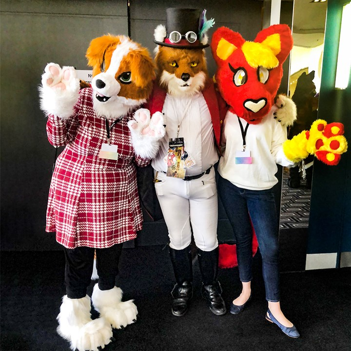 I Went Undercover At Australia S Biggest Furry Convention Marie Claire Australia