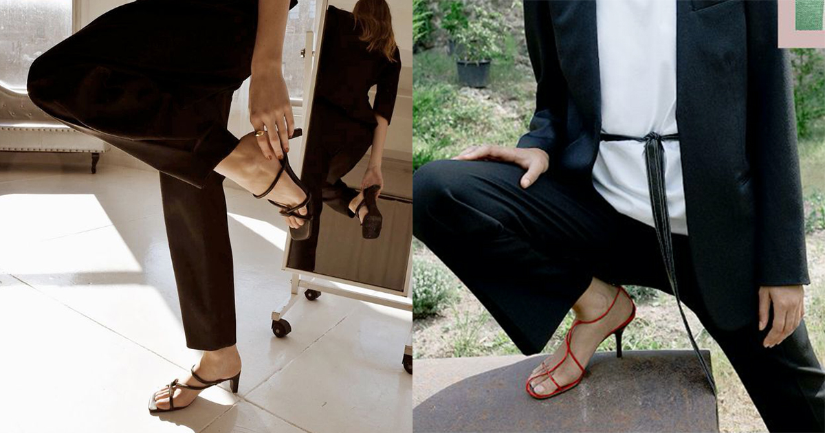 Strappy Heels Trend: The Best, Barely There Shoes To Shop