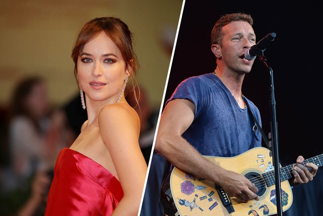 572cc096d Dakota Johnson And Chris Martin Seal Their Relationship With Matching Ink