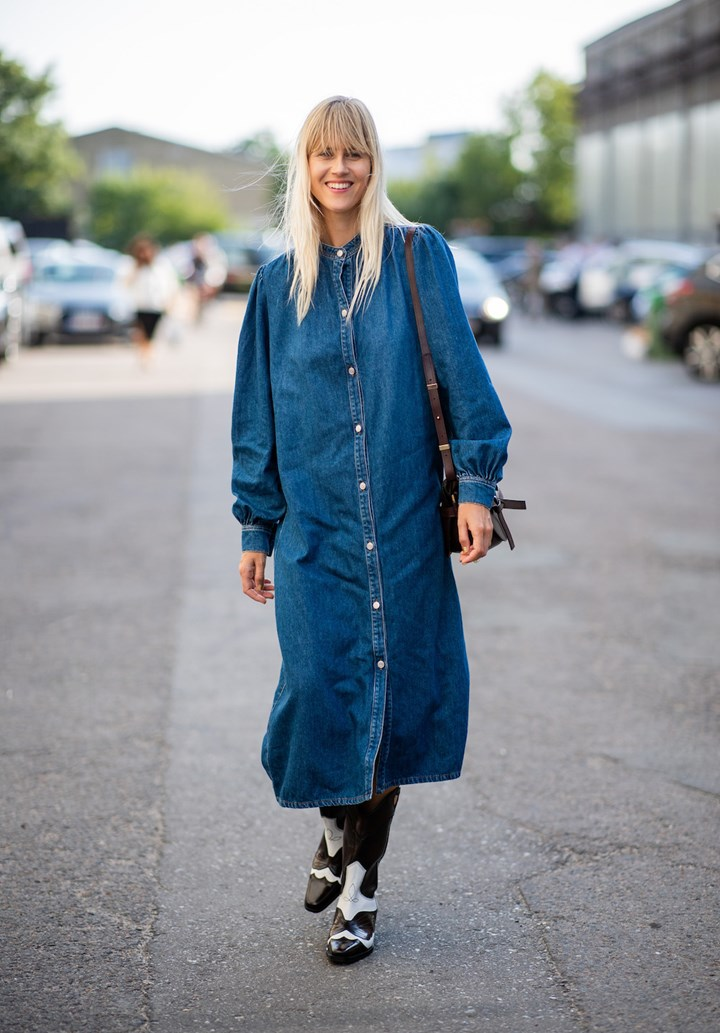 94adc3c98e8 Western Boot Trend Is All Over The Streets At Fashion Month | Marie ...