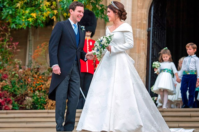 Royal Wedding Party.Inside Princess Eugenie And Jack Brooksbank S Wedding Party Marie