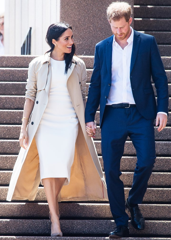 all meghan markle s outfits while on the royal tour of australia marie claire australia royal tour of australia
