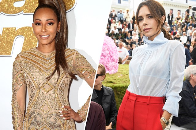 Mel B Dressed As Victoria Beckham For Halloween | Marie Claire Australia