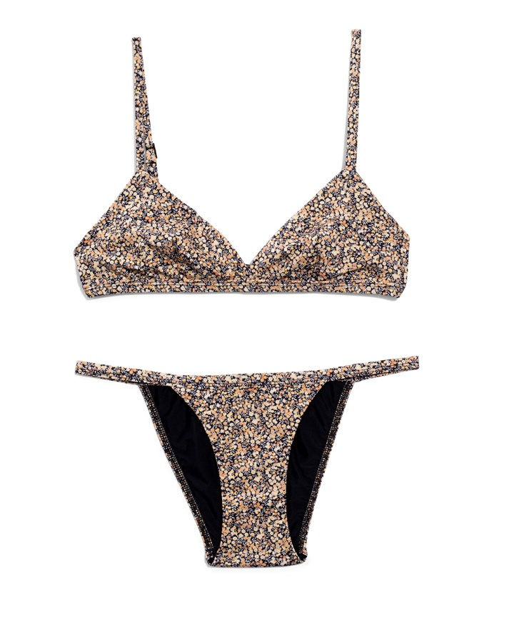 167419437f7 Matteau Tri Crop Top, $135, matteau-swim.com and The Petite Brief, $135,  matteau-swim.com.