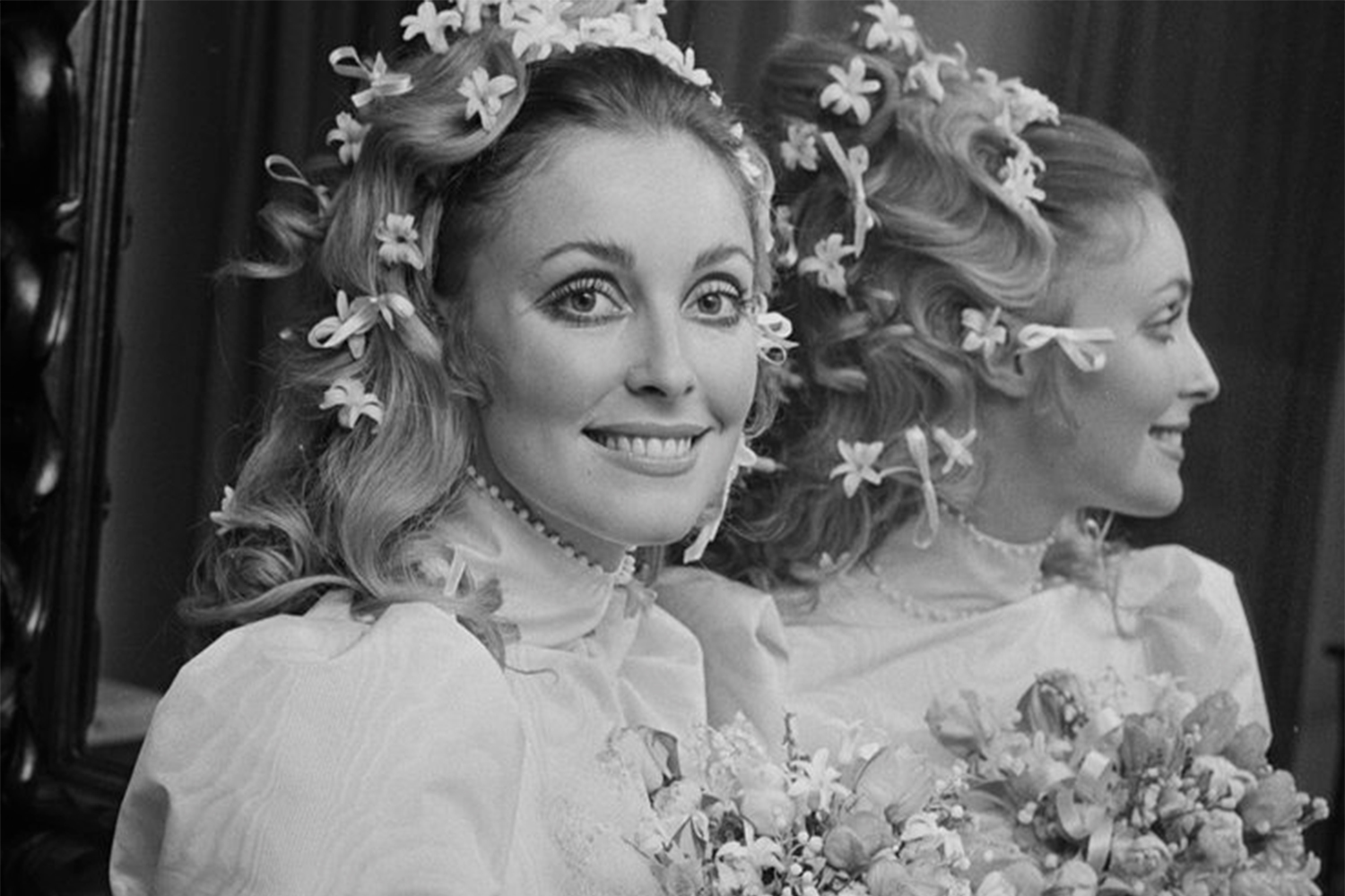 Sharon Tate S Wedding Dress Is Auctioned Off In Los Angeles