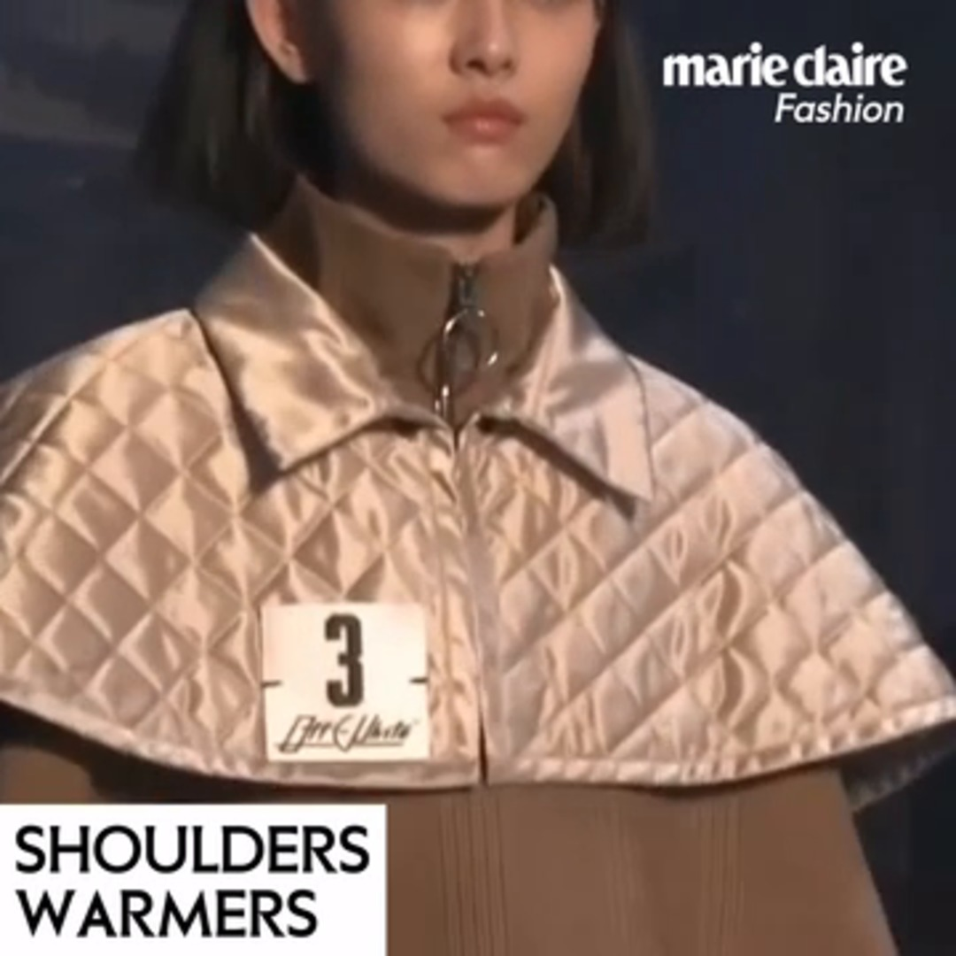 Fashion trend book FW18/19: Shoulders Warmers