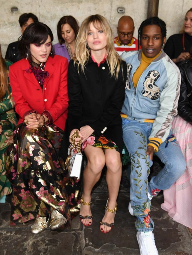 The Star Studded Front Row Gucci 2017 Cruise Show
