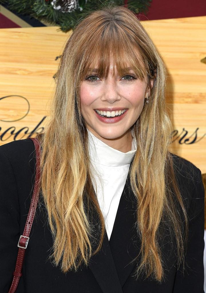 Elizabeth Olsen S Blonde Hair Look S Like Mary Kate And