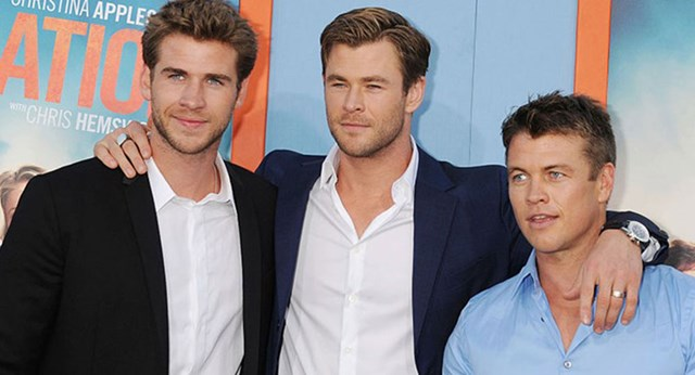 Liam Hemsworth Once Threw A Knife At His Older Brother