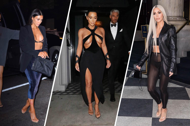 23 Of Kim Kardashian West\u0027s Most Shocking Outfits To Date