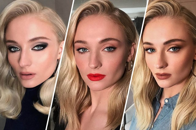 ade1e9ead07 Your Definitive Guide To Sophie Turner's Best Beauty Looks Throughout The  Years