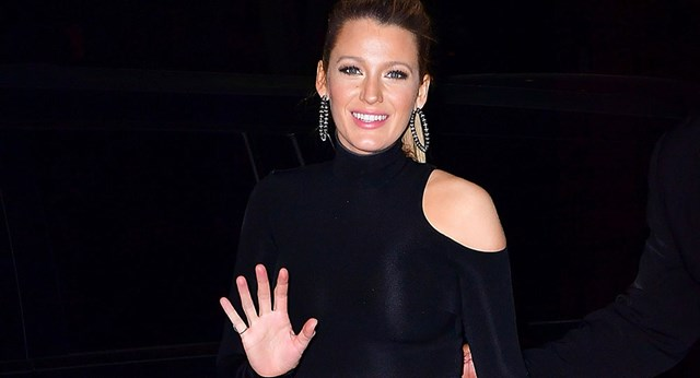 Blake Lively Keeps Things Simple In This Effortless After-Party Look