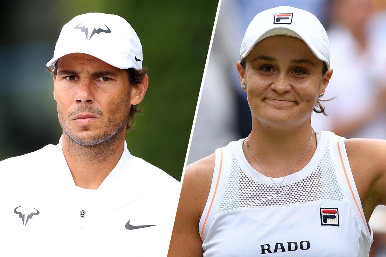 Image result for Barty & Nadal images
