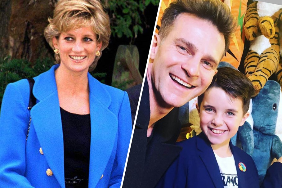 David Campbell Claims His Son Is The Reincarnation Of Princess Diana