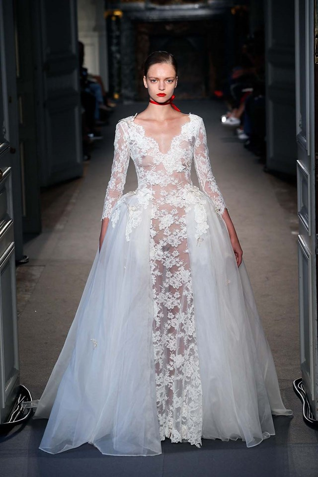 The Best Bridal Inspiration From Haute Couture Fashion Week A/W 2016