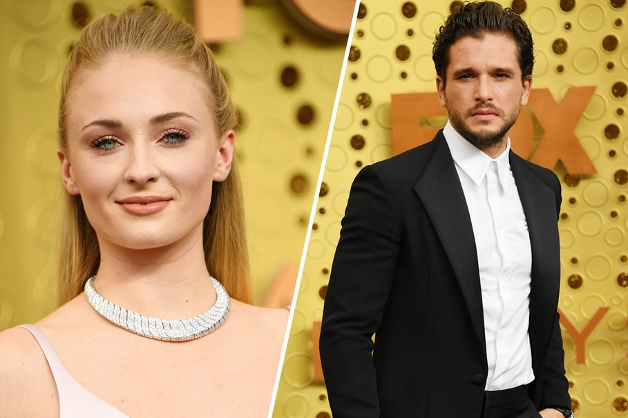 Sophie Turner And Kit Harington Unknowingly Recreated An Iconic 'Game of Thrones' Scene On The Red Carpet
