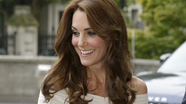 The Duchess Wows In Chic Off-The-Shoulder Dress