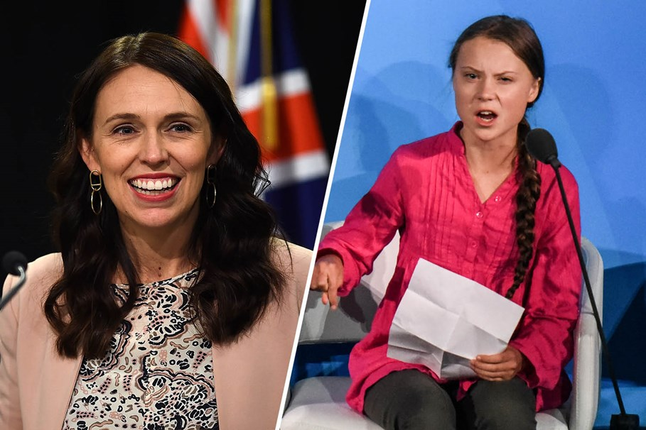 From Jacinda Ardern to Greta Thunberg: Here's Who Australian Girls Look Up To Most