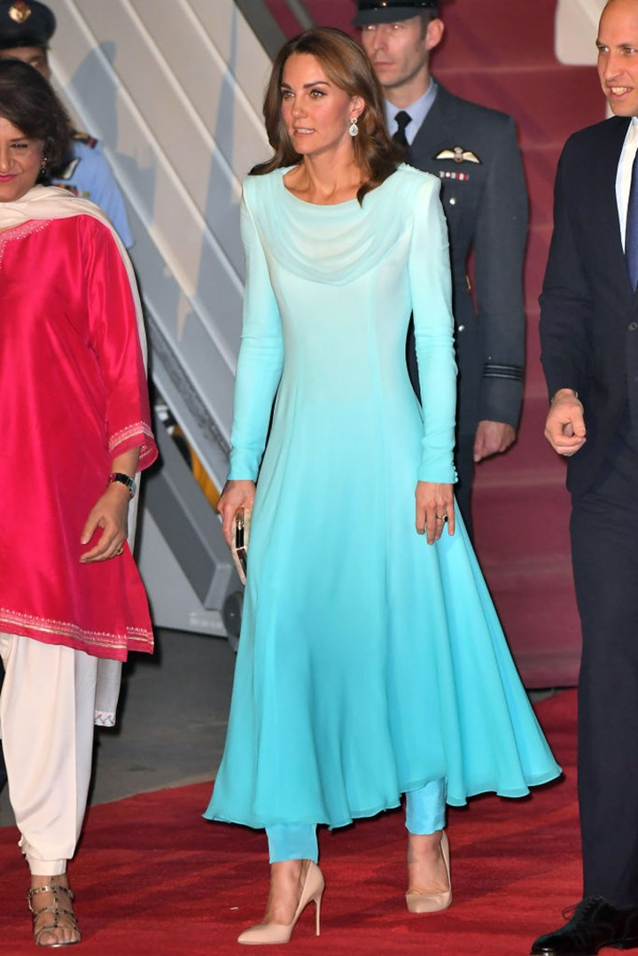 Every Single Thing Kate Middleton Has Worn On The Royal Tour Of Pakistan