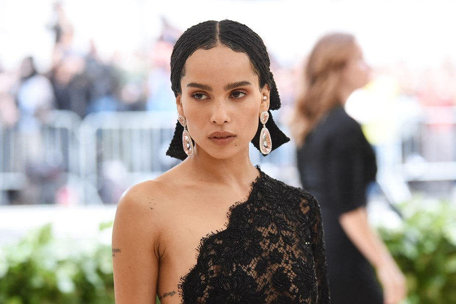 Zoë Kravitz Will Play Catwoman To Robert Pattinson's Batman