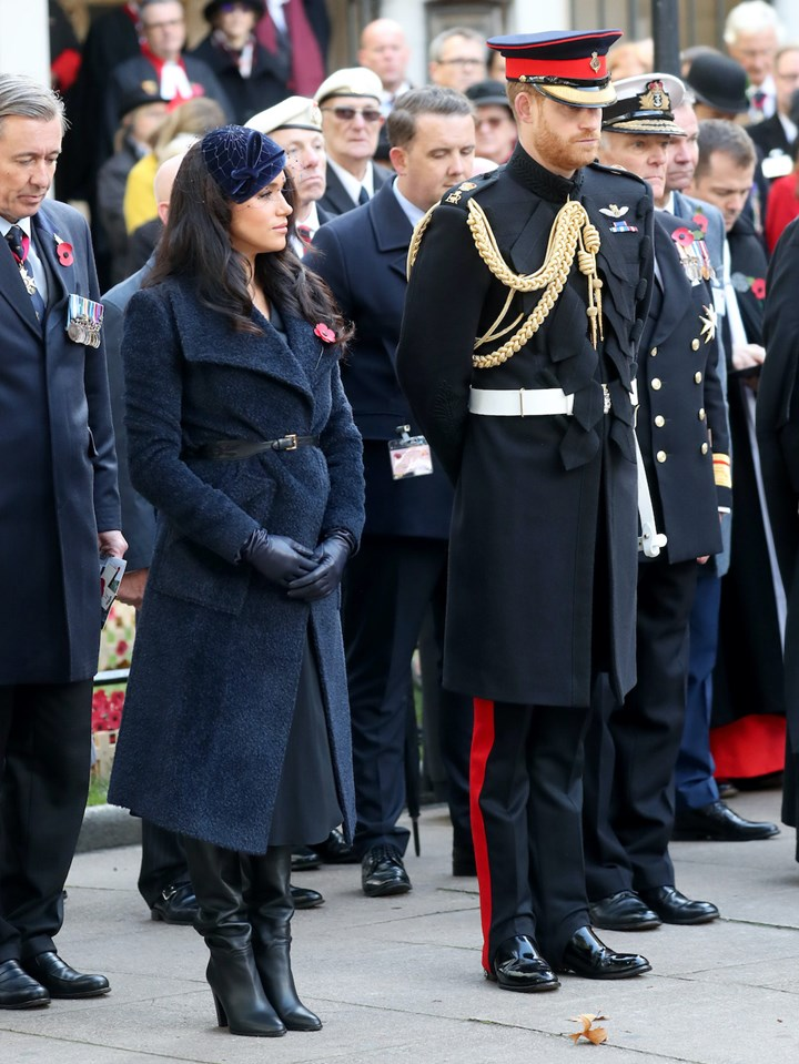 The Best Meghan Markle Prince Harry Remembrance Day