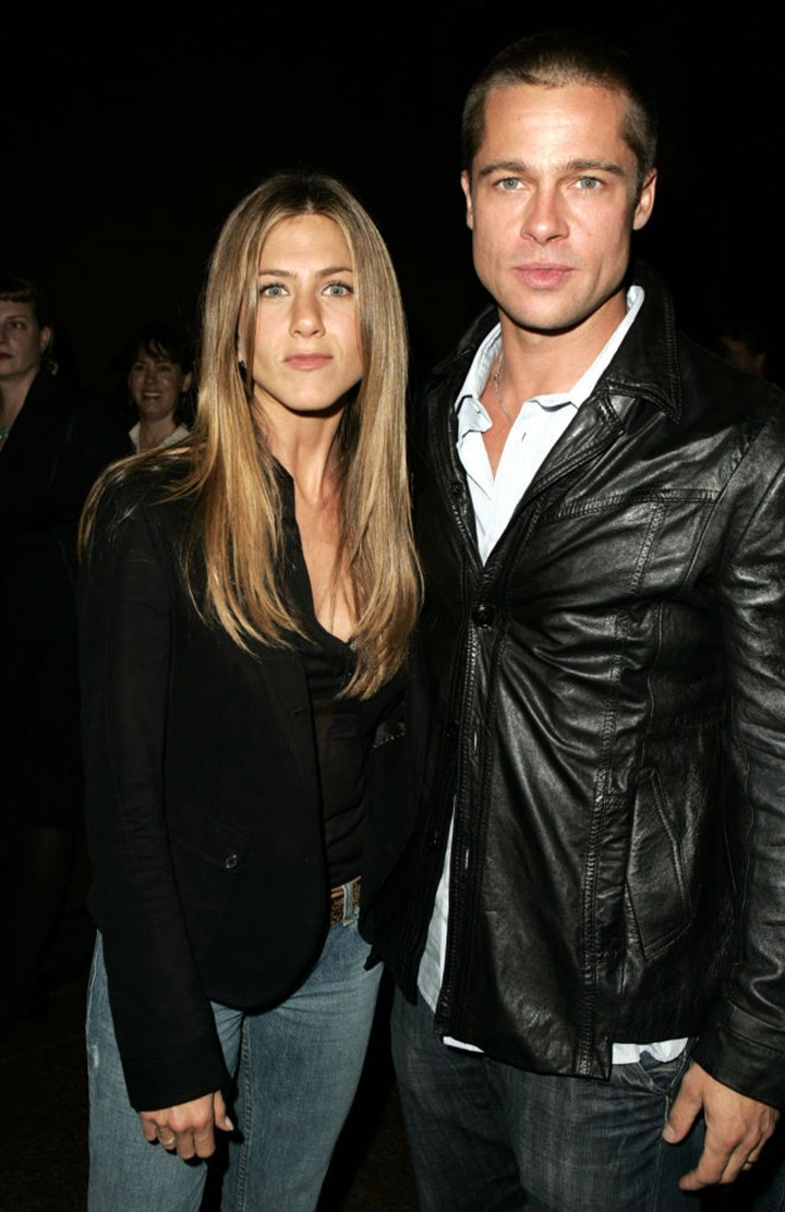 """Brad Pitt Went To Jennifer Aniston's Holiday Party And Was """"One Of The Last To Leave"""""""