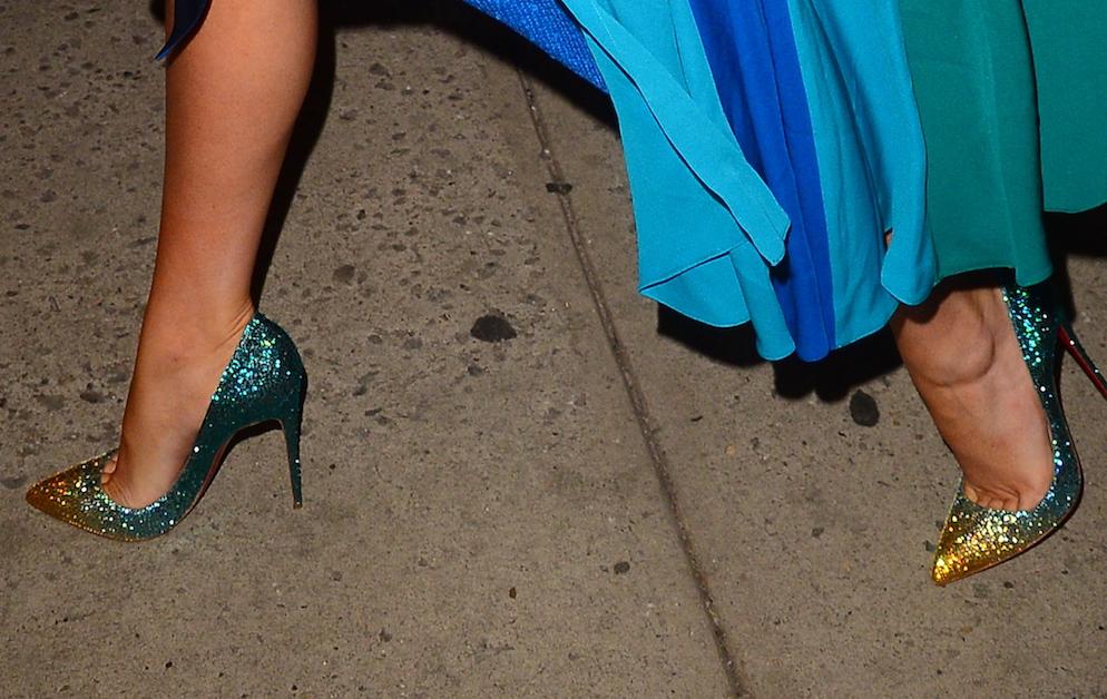 Just Last Season Blue Shoes