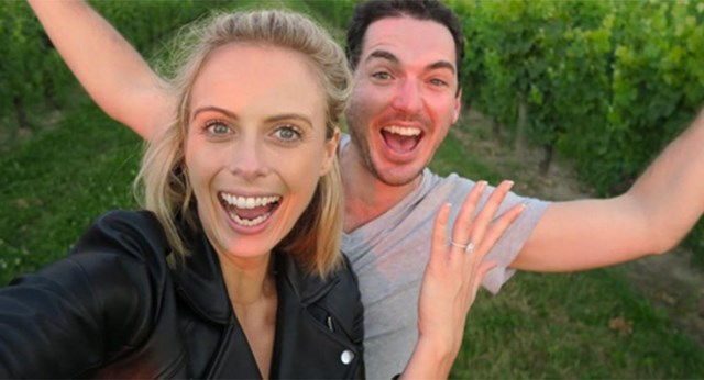 Sylvia Jeffreys Shares The Story Of Her Engagement To Pete Stefanovic