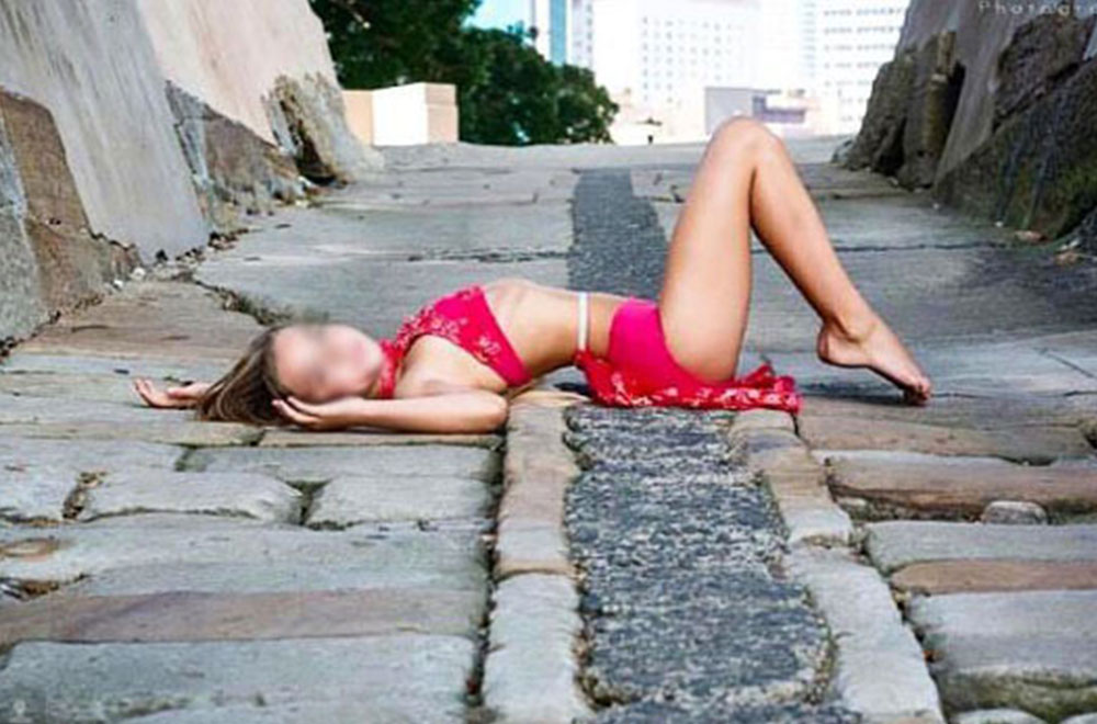 Photos of scantily-clad girls have sparked controversy ...