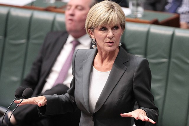 Lack Of Women In Parliament Is An Issue, Says Julie Bishop