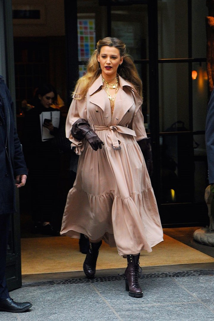 Blake Lively Wore 6 Different Outfits In Less Than 24 Hours