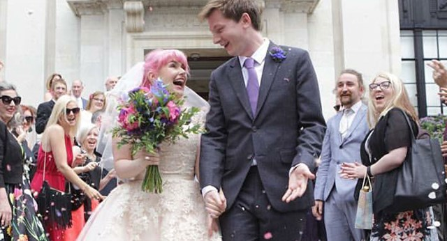 Woman Marries Her Twitter Crush In Modern-Day Love Story
