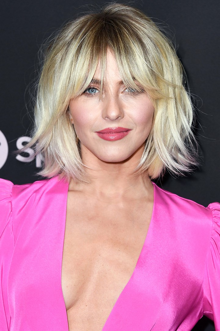 julianne hough shaggy bob